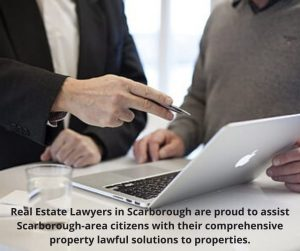 Real estate lawyers in Scarborough